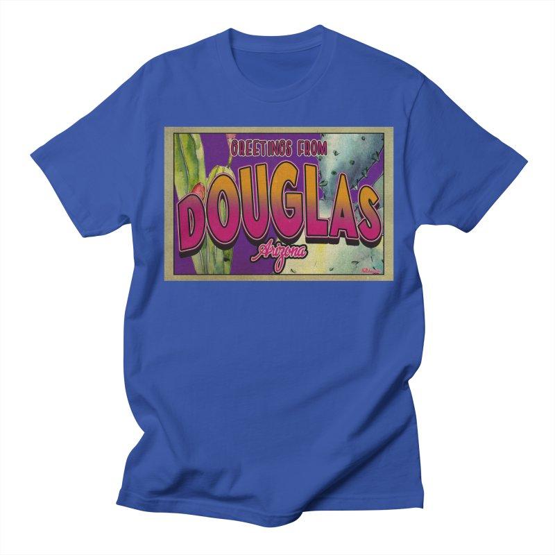 Douglas, AZ. Men's T-Shirt by Nuttshaw Studios