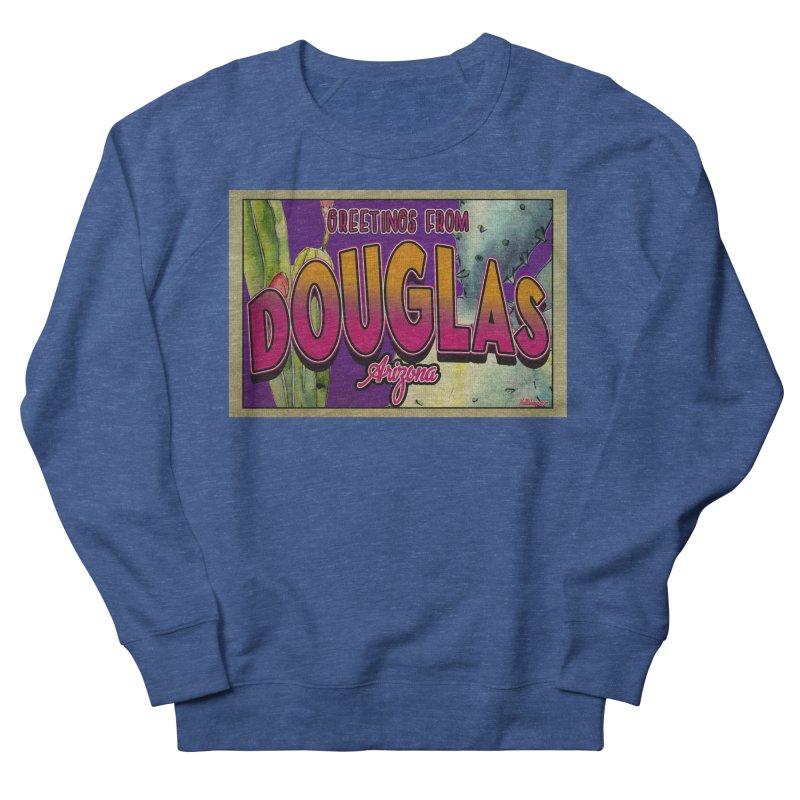 Douglas, AZ. Men's Sweatshirt by Nuttshaw Studios