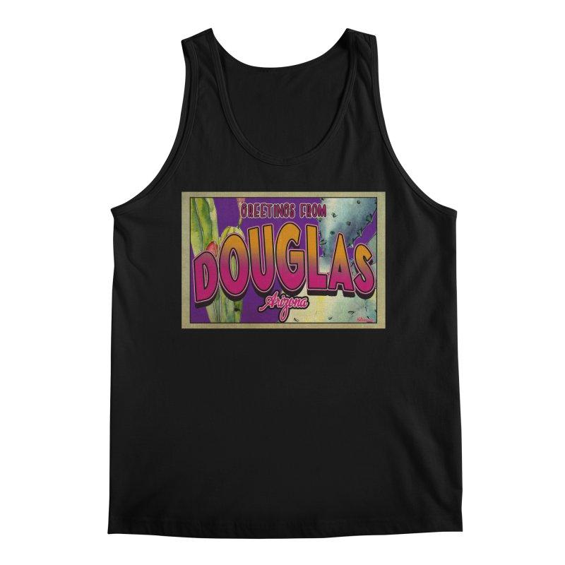 Douglas, AZ. Men's Tank by Nuttshaw Studios