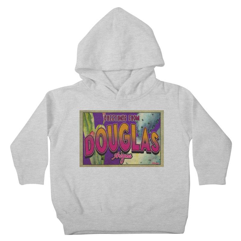 Douglas, AZ. Kids Toddler Pullover Hoody by Nuttshaw Studios