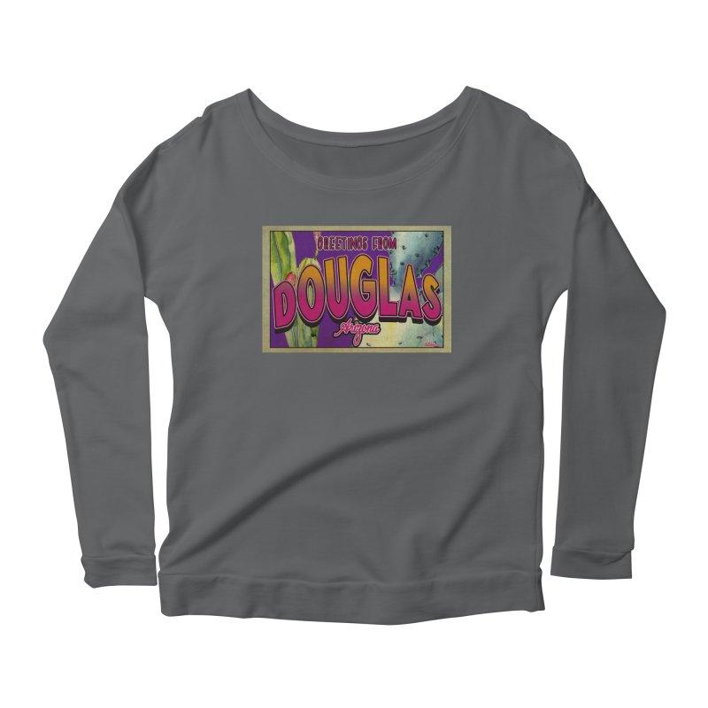 Douglas, AZ. Women's Longsleeve T-Shirt by Nuttshaw Studios