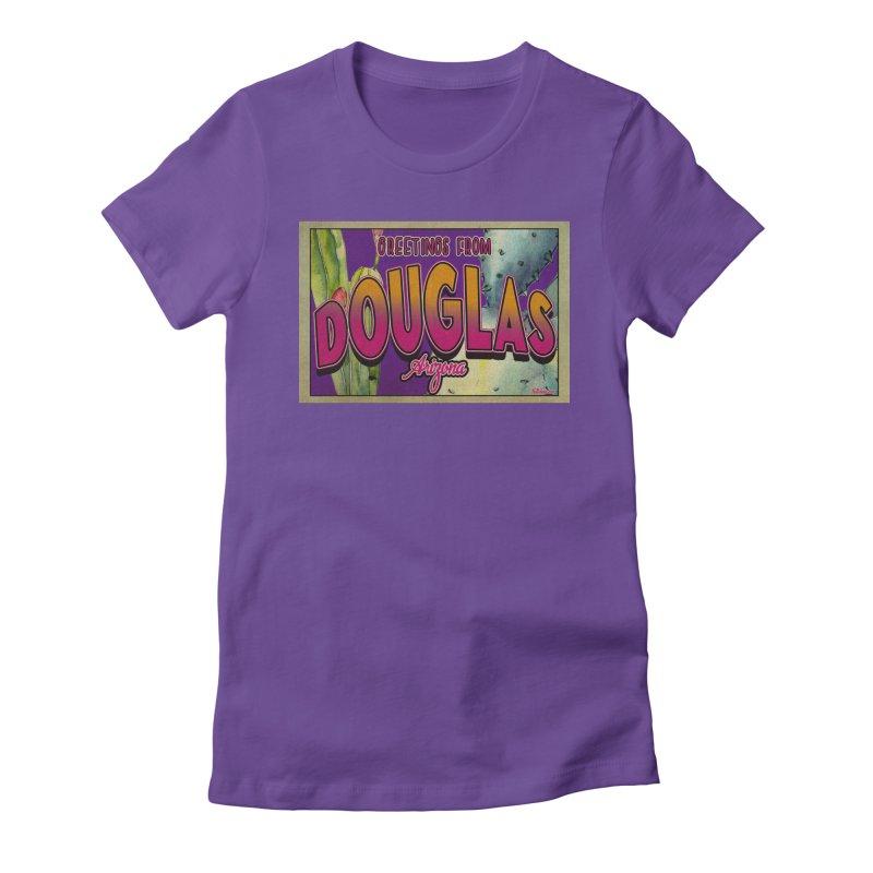 Douglas, AZ. Women's T-Shirt by Nuttshaw Studios