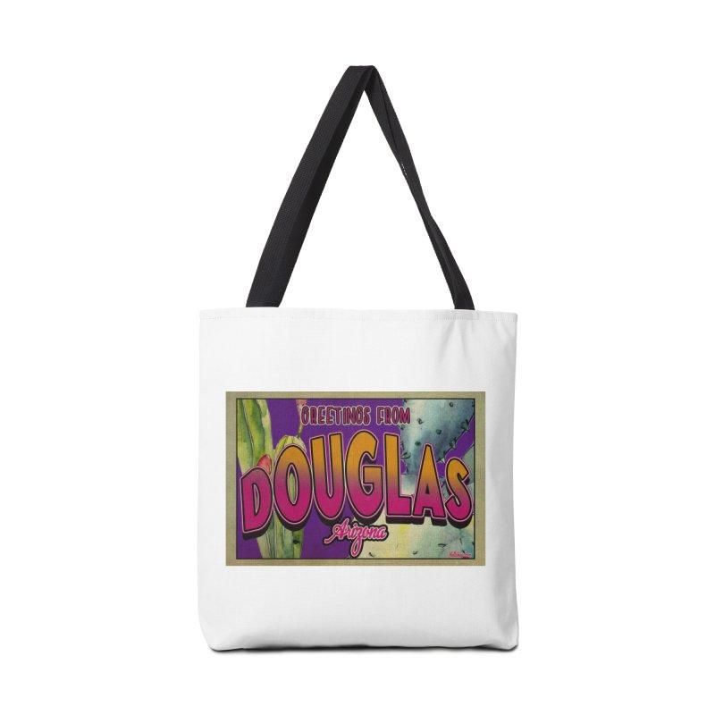 Douglas, AZ. Accessories Bag by Nuttshaw Studios
