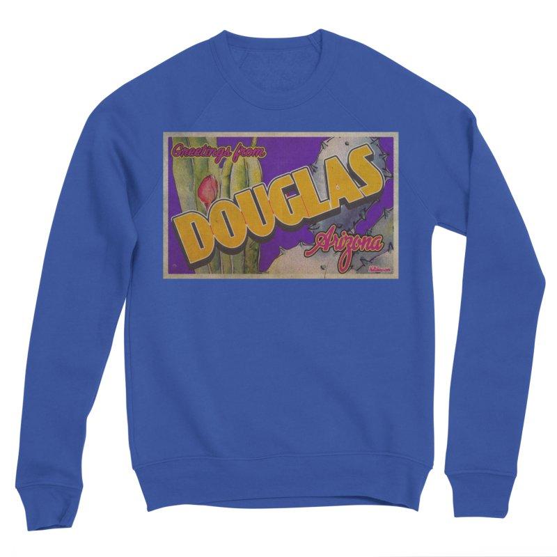 Douglas, AZ. Men's Sponge Fleece Sweatshirt by Nuttshaw Studios