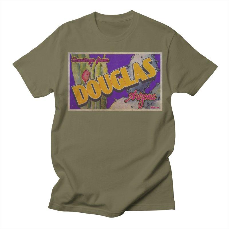 Douglas, AZ. Men's Regular T-Shirt by Nuttshaw Studios