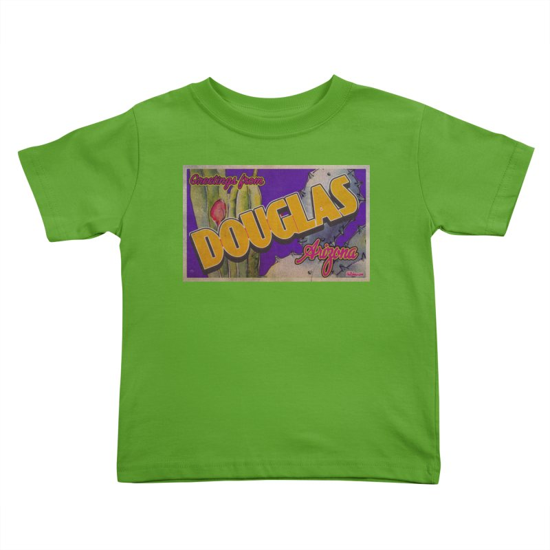 Douglas, AZ. Kids Toddler T-Shirt by Nuttshaw Studios
