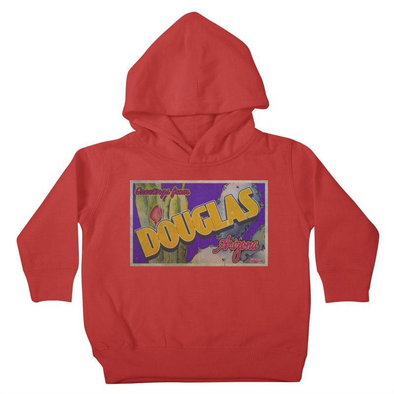 Douglas, AZ. Kids Toddler Pullover Hoody by Nuttshaw Studios