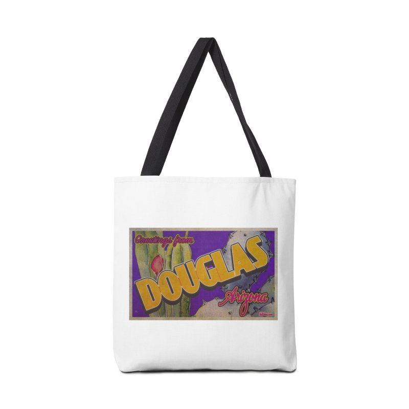 Douglas, AZ. Accessories Tote Bag Bag by Nuttshaw Studios