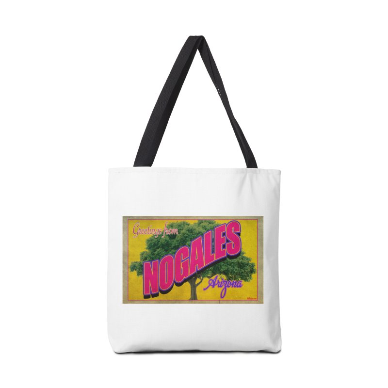 Nogales Walnut Tree Accessories Tote Bag Bag by Nuttshaw Studios