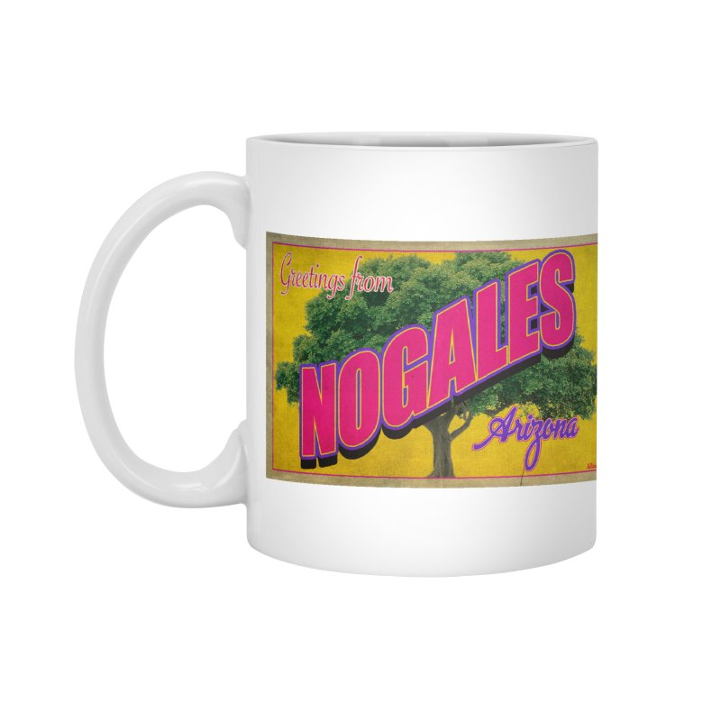 Nogales Walnut Tree Accessories Mug by Nuttshaw Studios