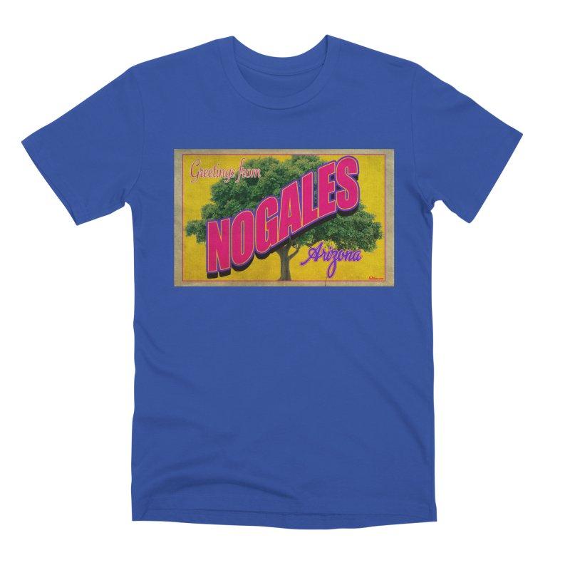 Nogales Walnut Tree Men's Premium T-Shirt by Nuttshaw Studios