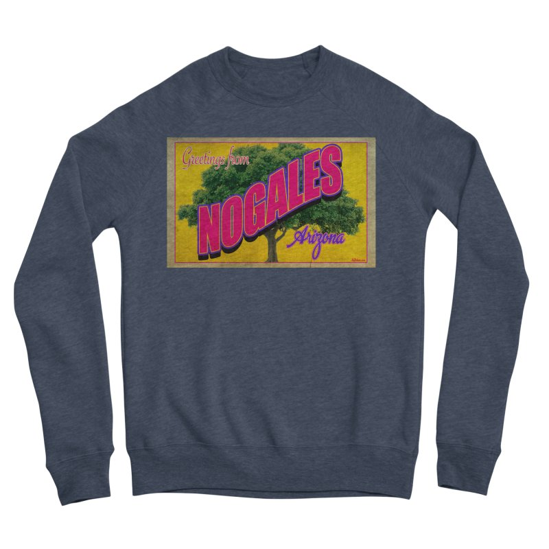 Nogales Walnut Tree Women's Sponge Fleece Sweatshirt by Nuttshaw Studios