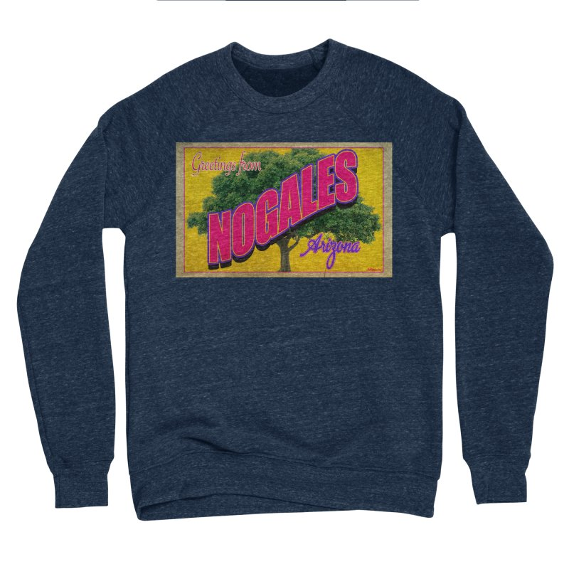 Nogales Walnut Tree Men's Sponge Fleece Sweatshirt by Nuttshaw Studios