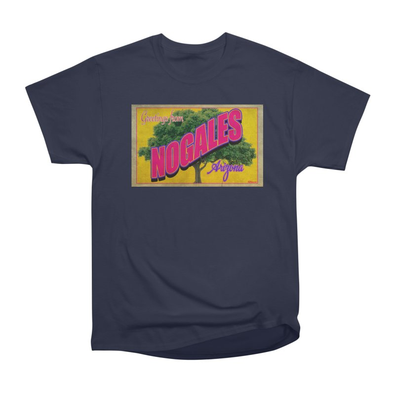 Nogales Walnut Tree Women's Heavyweight Unisex T-Shirt by Nuttshaw Studios