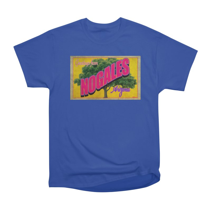 Nogales Walnut Tree Women's Heavyweight Unisex T-Shirt by Nuttshaw Studios