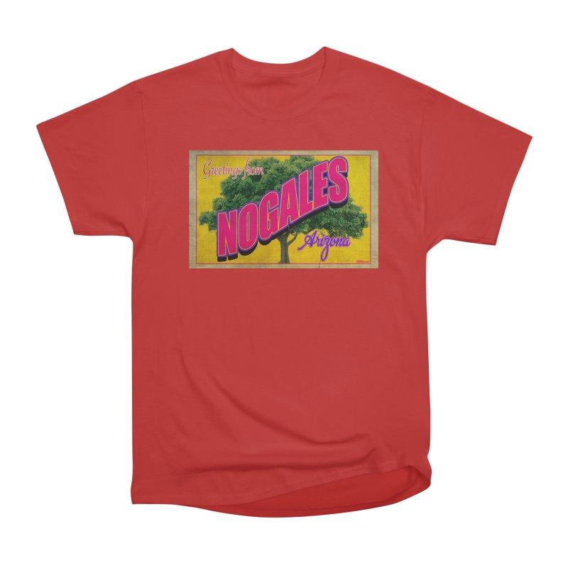 Nogales Walnut Tree Men's Heavyweight T-Shirt by Nuttshaw Studios