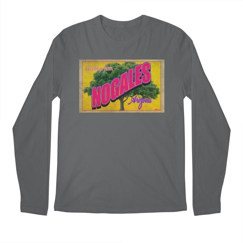 Nogales Walnut Tree Men's Longsleeve T-Shirt by Nuttshaw Studios
