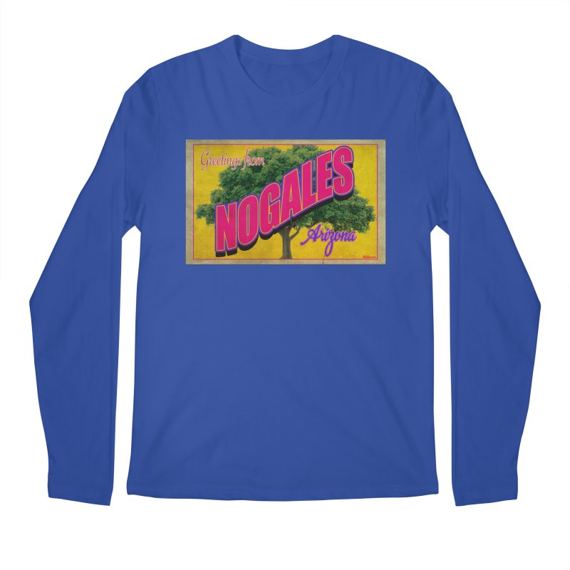 Nogales Walnut Tree Men's Regular Longsleeve T-Shirt by Nuttshaw Studios