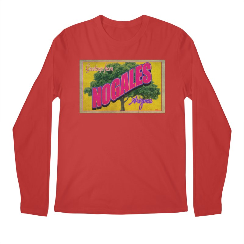 Nogales Walnut Tree Men's Regular Longsleeve T-Shirt by Nuttshaw Studios