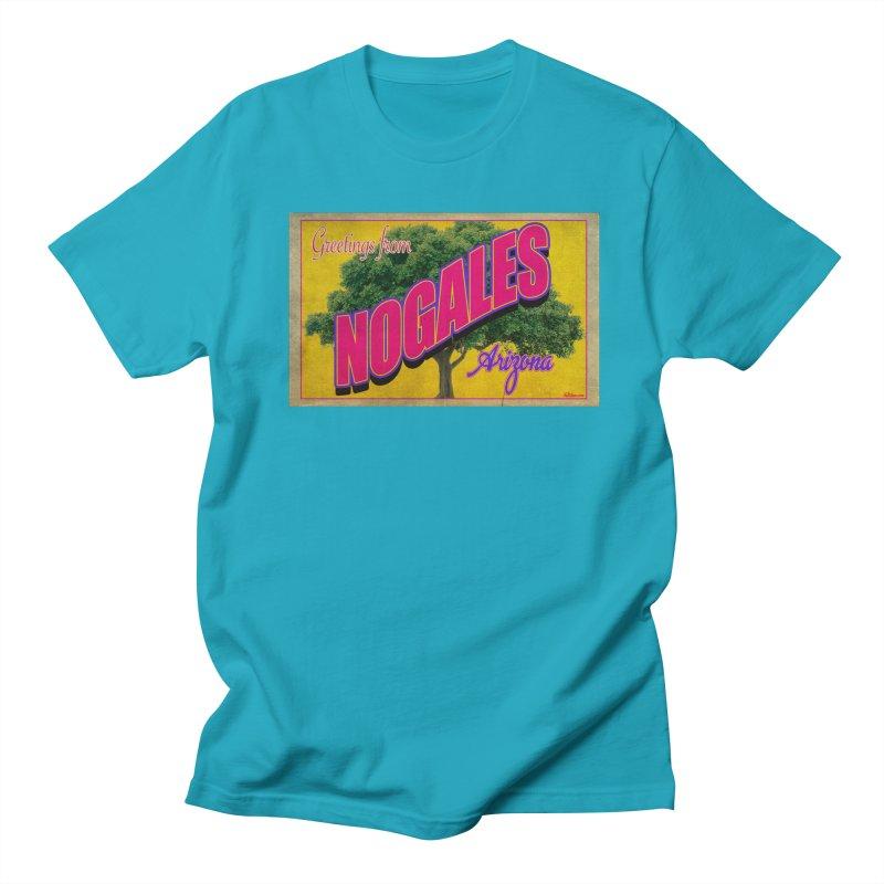 Nogales Walnut Tree Men's Regular T-Shirt by Nuttshaw Studios