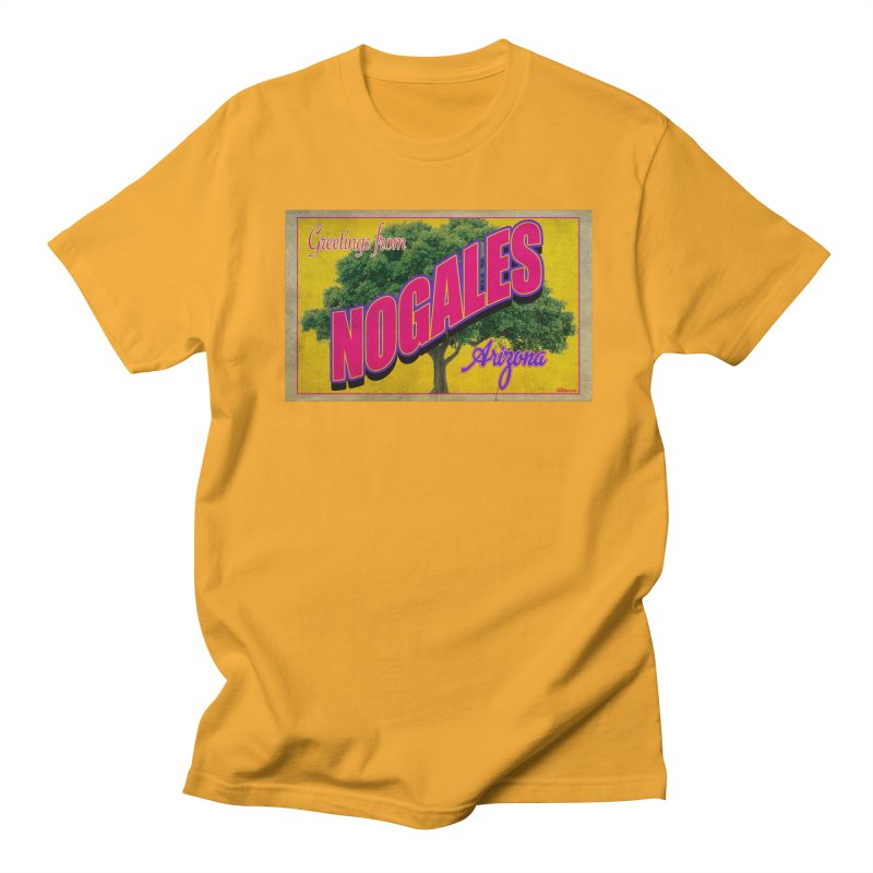 Nogales Walnut Tree Men's T-Shirt by Nuttshaw Studios