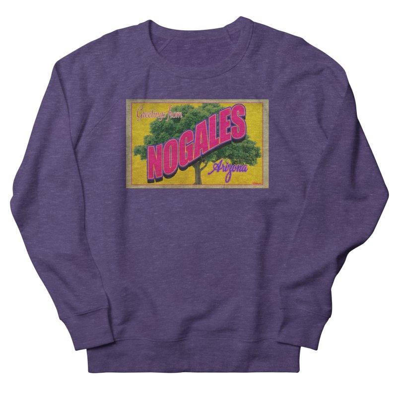 Nogales Walnut Tree Women's French Terry Sweatshirt by Nuttshaw Studios