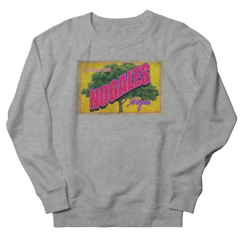 Nogales Walnut Tree Women's French Terry Sweatshirt by Nuttshaw Studios