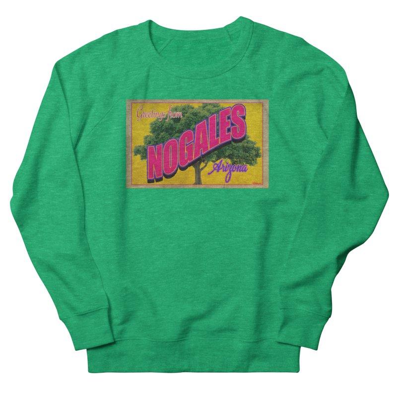 Nogales Walnut Tree Men's French Terry Sweatshirt by Nuttshaw Studios