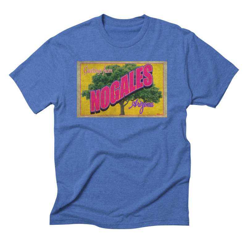 Nogales Walnut Tree Men's T-Shirt by Nuttshaw Studios