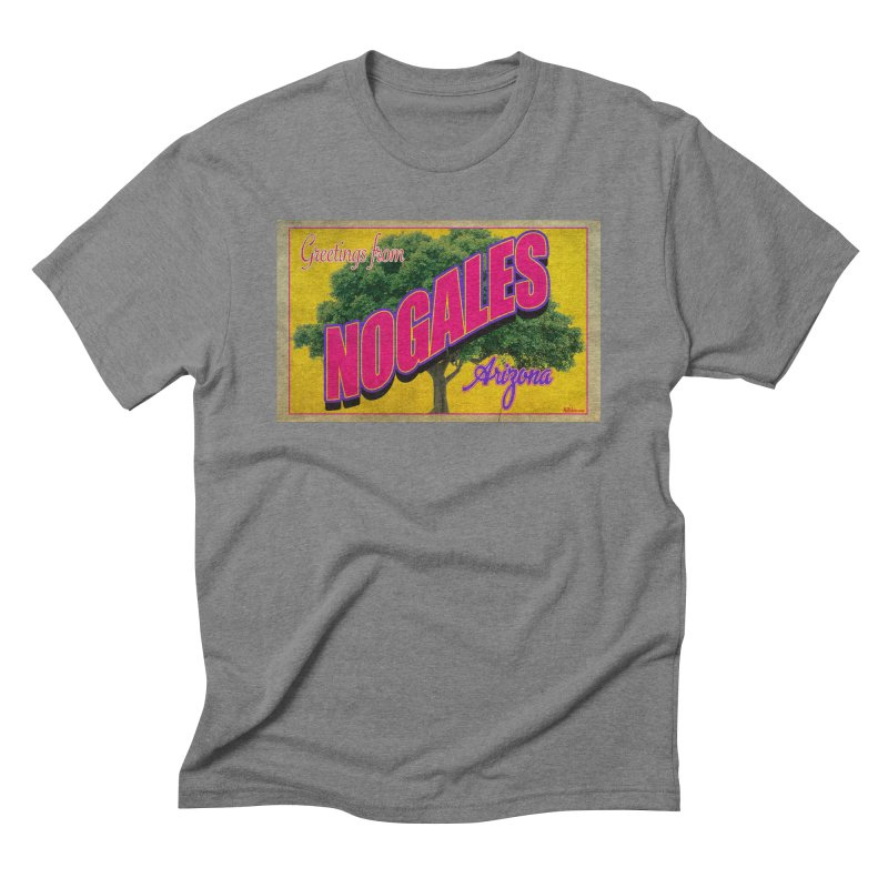 Nogales Walnut Tree Men's Triblend T-Shirt by Nuttshaw Studios