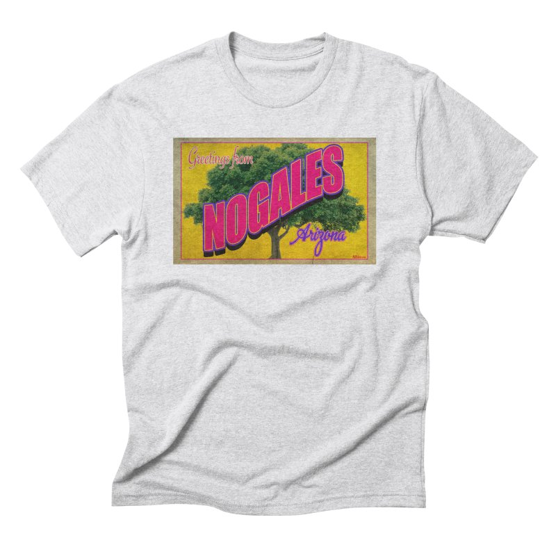 Nogales Walnut Tree Men's Triblend T-Shirt by Nuttshaw Studios
