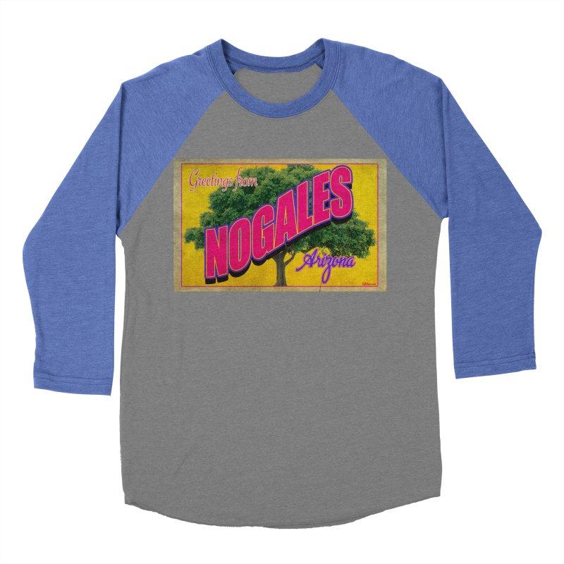 Nogales Walnut Tree Women's Baseball Triblend Longsleeve T-Shirt by Nuttshaw Studios
