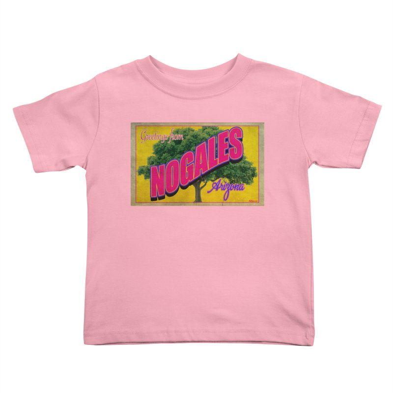 Nogales Walnut Tree Kids Toddler T-Shirt by Nuttshaw Studios