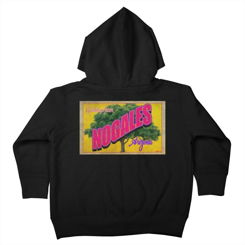 Nogales Walnut Tree Kids Toddler Zip-Up Hoody by Nuttshaw Studios
