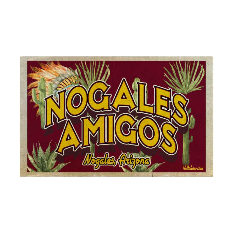 Nogales Amigos, Nogales, Arizona Men's T-Shirt by Nuttshaw Studios