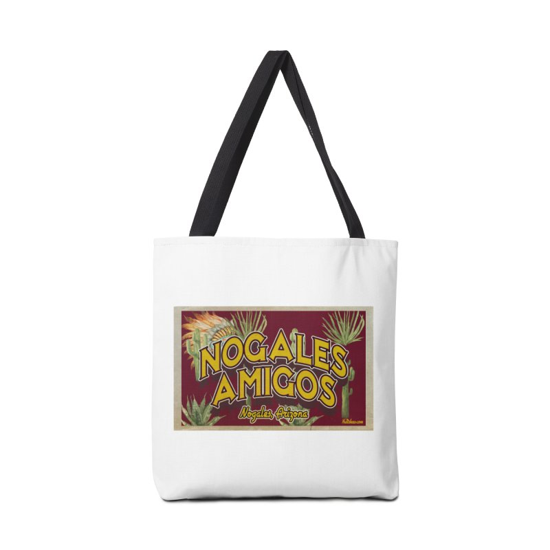Nogales Amigos, Nogales, Arizona Accessories Bag by Nuttshaw Studios