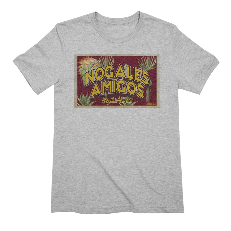 Nogales Amigos, Nogales, Arizona Men's Extra Soft T-Shirt by Nuttshaw Studios