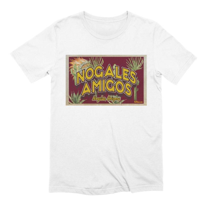 Nogales Amigos, Nogales, Arizona Men's Extra Soft T-Shirt by Nuttshaw Studios