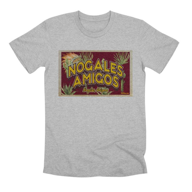 Nogales Amigos, Nogales, Arizona Men's Premium T-Shirt by Nuttshaw Studios