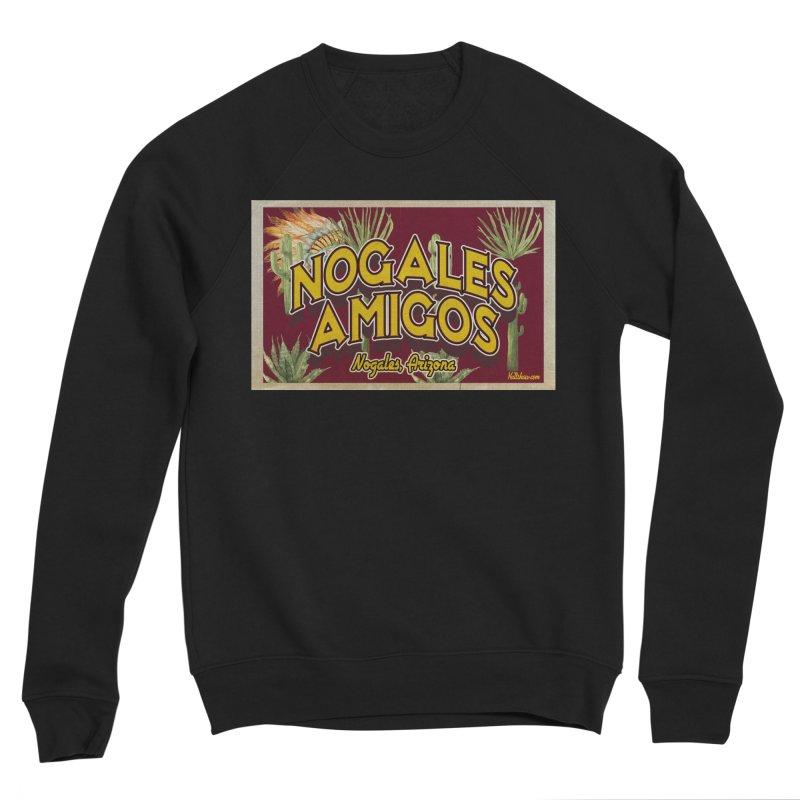 Nogales Amigos, Nogales, Arizona Men's Sponge Fleece Sweatshirt by Nuttshaw Studios
