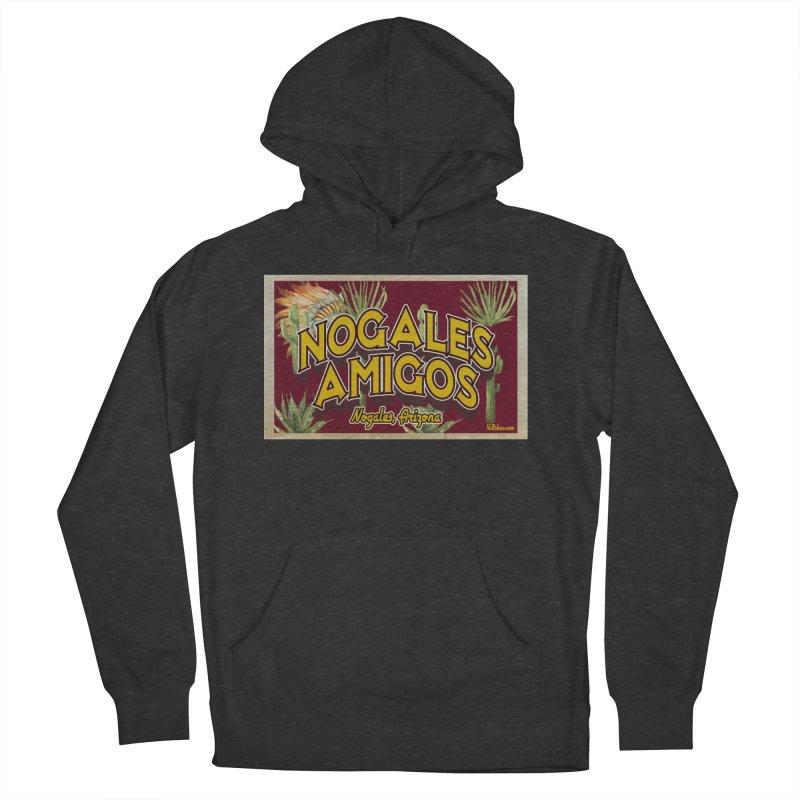 Nogales Amigos, Nogales, Arizona Men's Pullover Hoody by Nuttshaw Studios