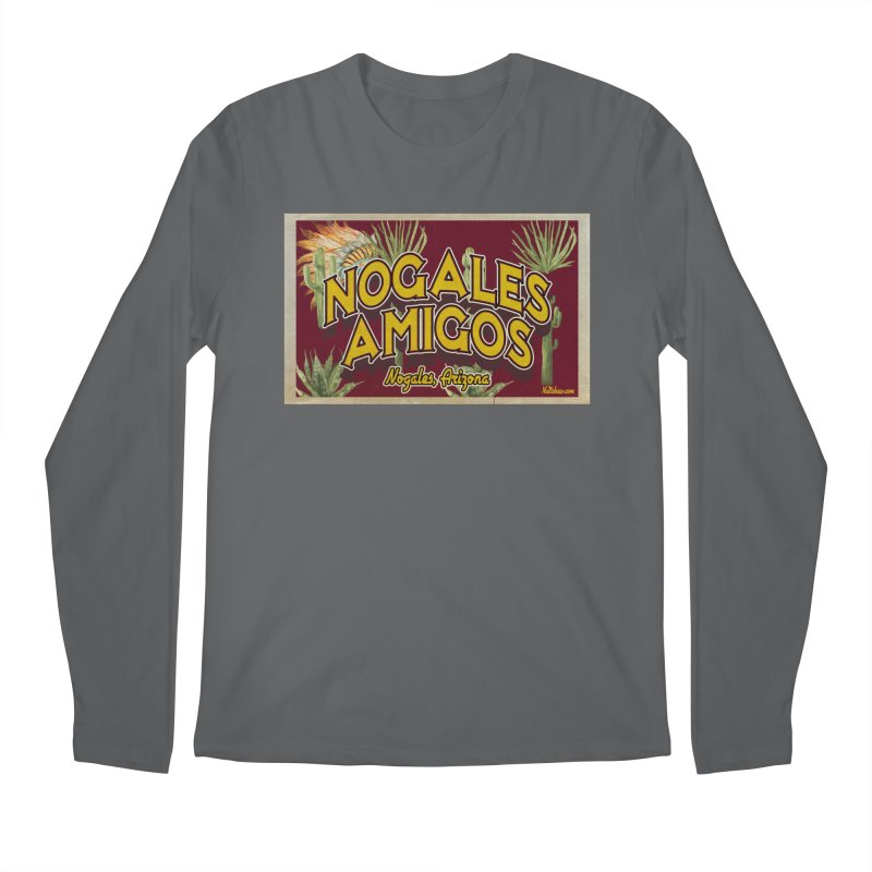 Nogales Amigos, Nogales, Arizona Men's Regular Longsleeve T-Shirt by Nuttshaw Studios