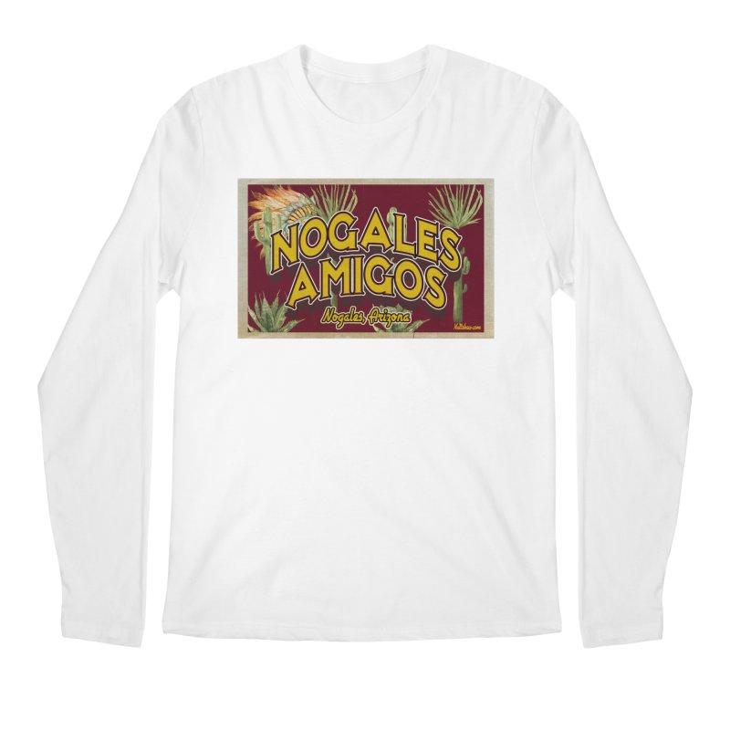 Nogales Amigos, Nogales, Arizona Men's Regular Longsleeve T-Shirt by Nuttshaw Studios