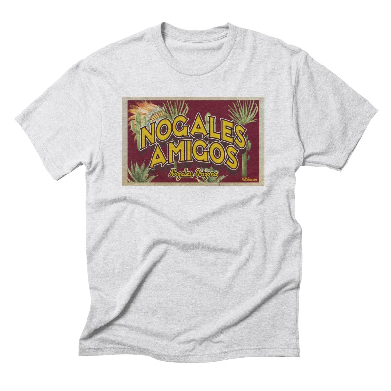 Nogales Amigos, Nogales, Arizona Men's Triblend T-Shirt by Nuttshaw Studios