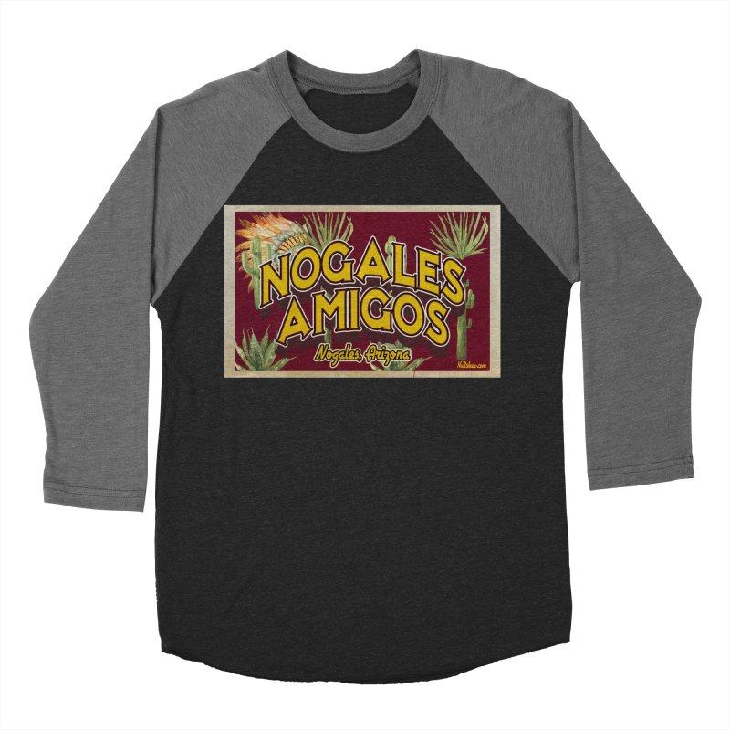 Nogales Amigos, Nogales, Arizona Women's Baseball Triblend Longsleeve T-Shirt by Nuttshaw Studios