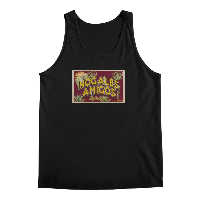 Nogales Amigos, Nogales, Arizona Men's Regular Tank by Nuttshaw Studios