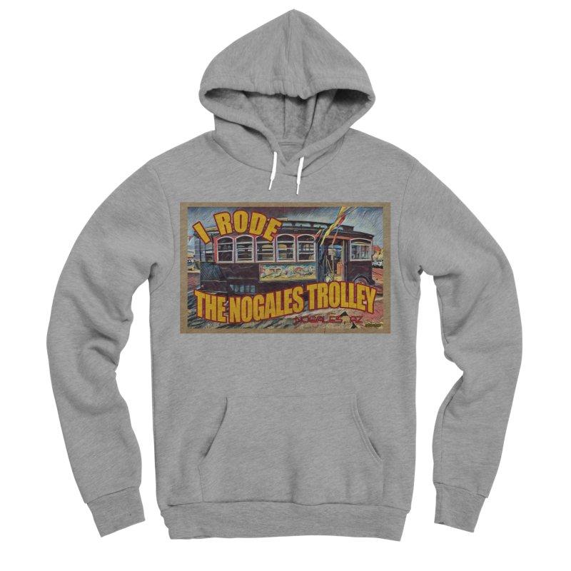 I Rode The Nogales Trolley (yellow) Women's Sponge Fleece Pullover Hoody by Nuttshaw Studios