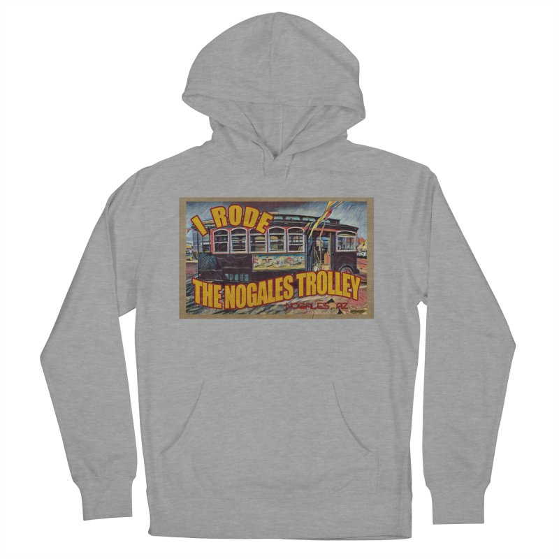 I Rode The Nogales Trolley (yellow) Men's Pullover Hoody by Nuttshaw Studios