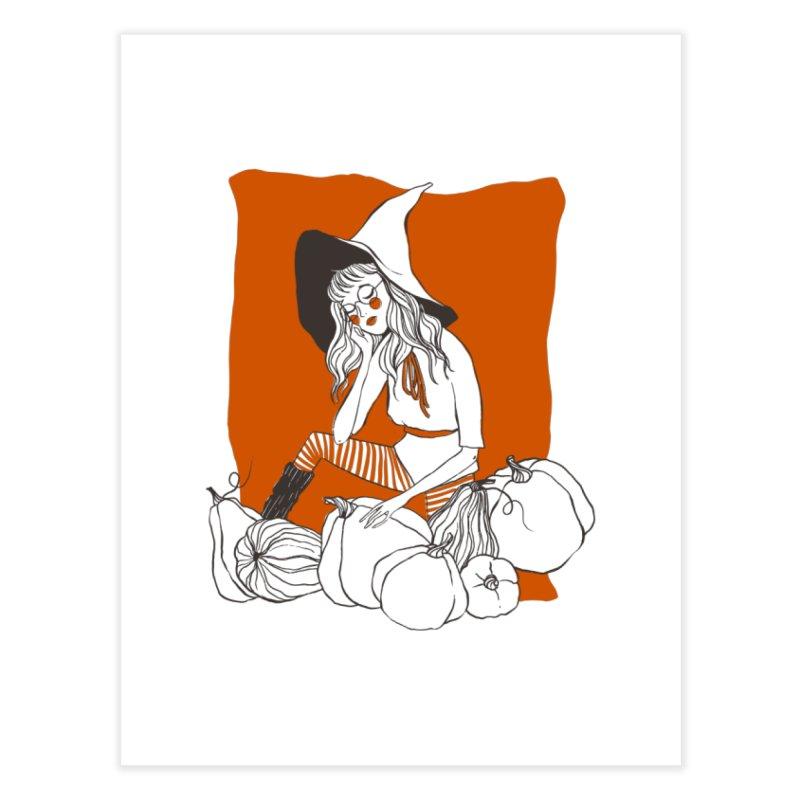 Pumpkin Dreaming Home Fine Art Print by NyxThat's Artist Shop