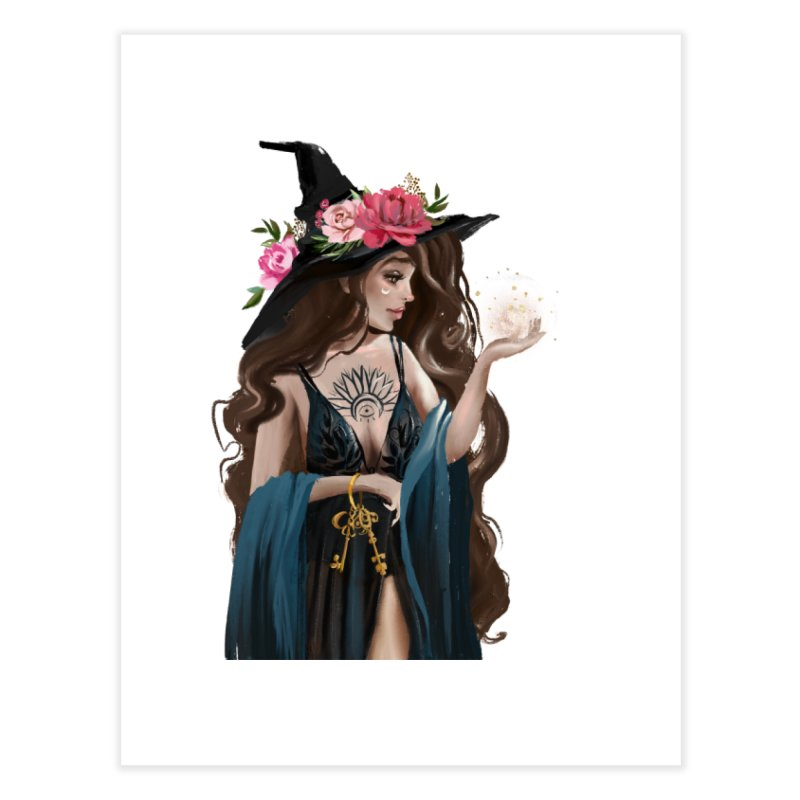 Witch Home Fine Art Print by NyxThat's Artist Shop